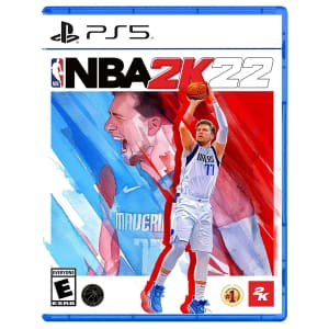 NBA 2K22 for PlayStation 5 for $50