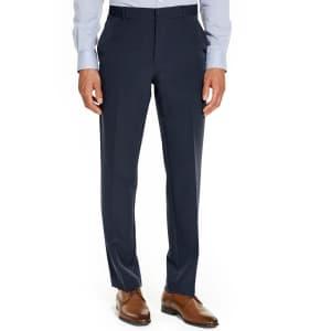 Alfani Men's Classic-Fit Stretch Travel Dress Pants for $19