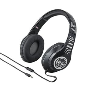 eKids Marvel Over The Ear Wired Headphones with Built in Microphone Quality Sound from The Makers of for $45