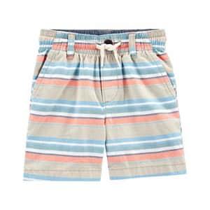 OshKosh B'Gosh Osh Kosh Boys' Chino Shorts, Plaid, 2T for $10