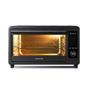 Toshiba TL2-AC25CZA(GR) Air Fryer Toaster Oven, 6-in-1 Digital Convection Oven for 9 Cooking for $113