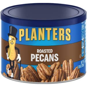 Planters Roasted Pecans 7.25-oz. Resealable Canister for $4 via Sub & Save