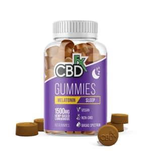 CBDx Melatonin 1,500mg 60-Count CBD Gummies for $35