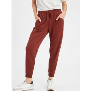 Banana Republic Factory Women's Knit Terry Jogger Pants for $15 in cart