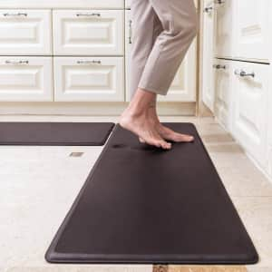 SixHome Anti-Fatigue Standing Mat 2-Pack for $26