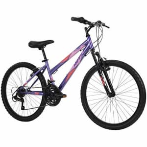 Huffy Hardtail Mountain Bike, Stone Mountain, 24 inch 21-Speed, Lightweight, Purple (74818) for $318