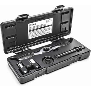 """Sata 5-Pc. Ratcheting Tap and Die 3/8"""" Drive Tool Set for $34"""
