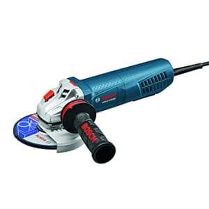 """Bosch 5"""" Angle Grinder with Paddle Switch for $149"""