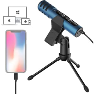 Lesyafel Microphone with Tripod for $40
