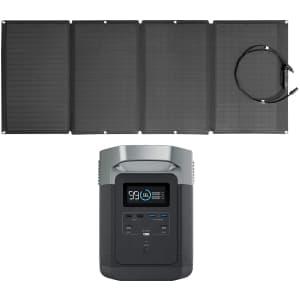 EF EcoFlow EF Delta 1,260Wh Solar Generator w/ 160W Solar Panel for $1,499