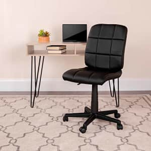 Flash Furniture Quilted Vinyl Swivel Task Chair for $68