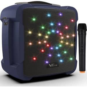 VeGue Portable Karaoke Machine for $90