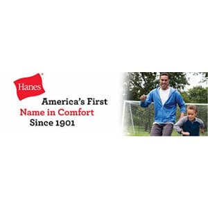 Hanes Men's Nano Premium Cotton T-Shirt (Pack of 2), Deep Forest, Small for $11