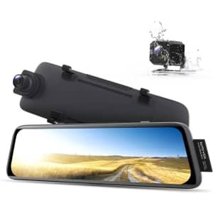 Auto-Vox V5 Mirror Dash Cam w/ Rear Camera for $200
