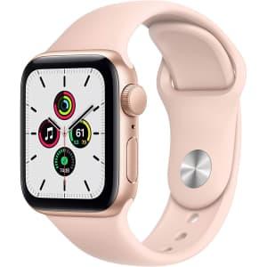 Apple Watch SE 40mm GPS Smartwatch for $240