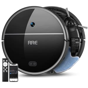 RRE 2-in-1 Robot Vacuum for $190