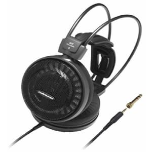Audio-Technica ATH-AD500X Audiophile Open-Air Headphones, Black (AUD ATHAD500X) for $87