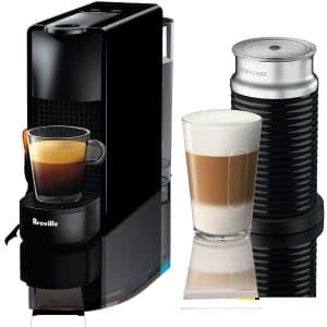 Breville Nepresso Essenza Mini Espresso Maker for $200