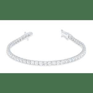 Szul Women's 7-TCW Diamond Tennis Bracelet in 14K White Gold for $2,382
