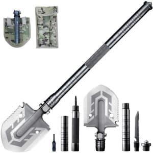 Mempa Multi-Purpose Folding Shovel Ultimate Survival Tool for $23
