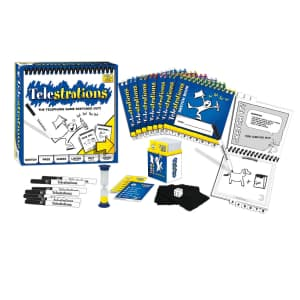 USAopoly Telestrations Original 8-Player Board Game for $12