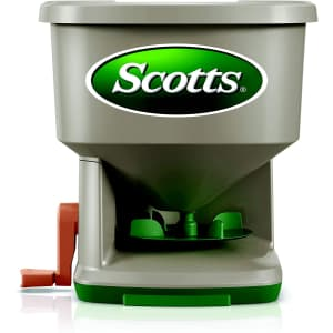Scotts Whirl Hand-Powered Spreader for $15