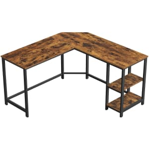 """Vasagle 54"""" L-Shaped Computer Desk for $116"""