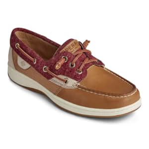 Sperry Women's Rosefish Jersey Boat Shoes for $24