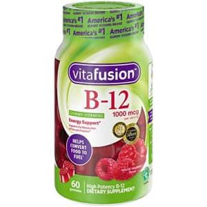 vitafusion Vitamin B-12 1000 mcg Gummy Vitamins, 60ct for $9