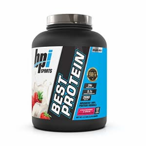 BPI Sports Best Protein 100% Whey Protein Blend Muscle Growth, Recovery, Meal Replacement No for $71