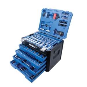 Kobalt 250-Piece Polished Chrome Mechanics Tool Set for $149