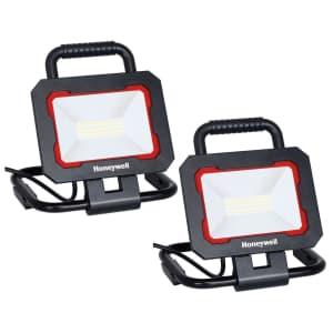 Honeywell 3,000-Lumen LED Work Light 2-Pack for $35 for members