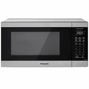 Panasonic NN-SU66LS Countertop Microwave Oven, 1100W with Genius Sensor Cook and Auto Defrost, 1.3 for $150