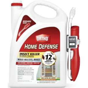 Ortho Home Defense Insect Killer 1.33-Gallon Bottle w/ Comfort Wand for $23