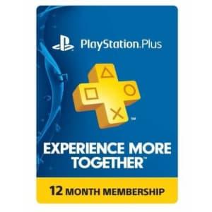 Sony PlayStation Plus 1-Year Membership: $29.99