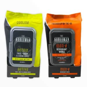 The Nobleman Man Wipes 60-Count 4-Pack for $16