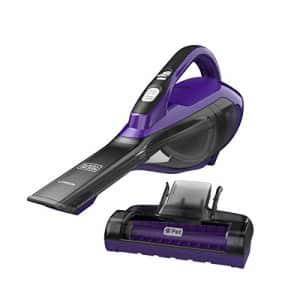 Black + Decker BLACK+DECKER Pet dustbuster Handheld Vacuum, Cordless, Purple (HLVA325JP07) for $74
