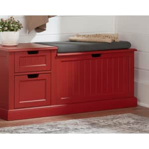 Home Decorators Collection Flip-Top Entryway Bench w/ Concealed Storage for $185