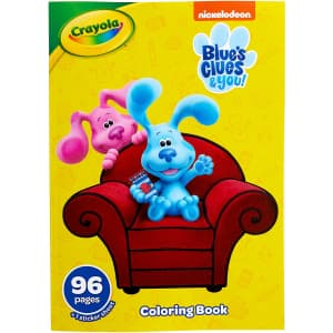 Crayola Blues Clues Coloring Book w/ Stickers for $2