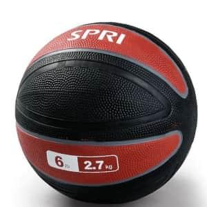 SPRI Xerball 6-lb. Medicine Ball for $19
