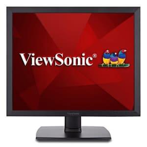 ViewSonic VA951S 19in IPS 1024p LED Monitor DVI, VGA (Renewed) for $120