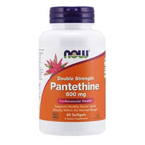 Now Foods NOW Supplements, Pantethine (Coenzyme A Precursor) 600 mg, Double Strength, Cardiovascular Health*, for $26