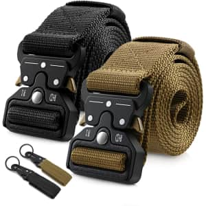 Barbarians Tactical Belt 2-Pack for $17