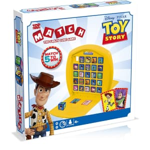 Disney Pixar Toy Story Top Trumps Match Game for $17