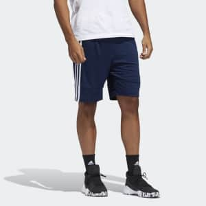 adidas Men's 3G Speed X Shorts for $15