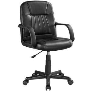 SmileMart Executive Office Chair for $70