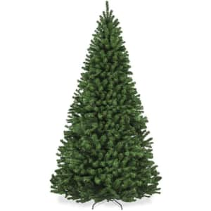 Best Choice 7.5-Ft. Spruce Hinged Christmas Tree: 7.5-Ft. for $99, 9-Ft. for $135
