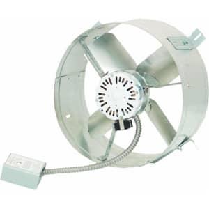 "Cool Attic 14"" Gable Mount Power Attic Ventilator for $77"