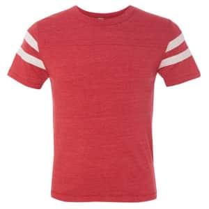 Alternative Apparel Men's Eco Short Sleeve Football T-Shirt: 3 for $15