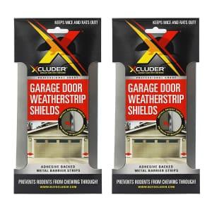Xcluder Garage Door Rodent Shield 2-Door Kit for $20